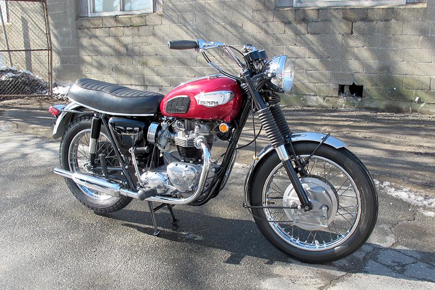 1968 Triumph Bonneville T120R | Don Hutchinson Cycle