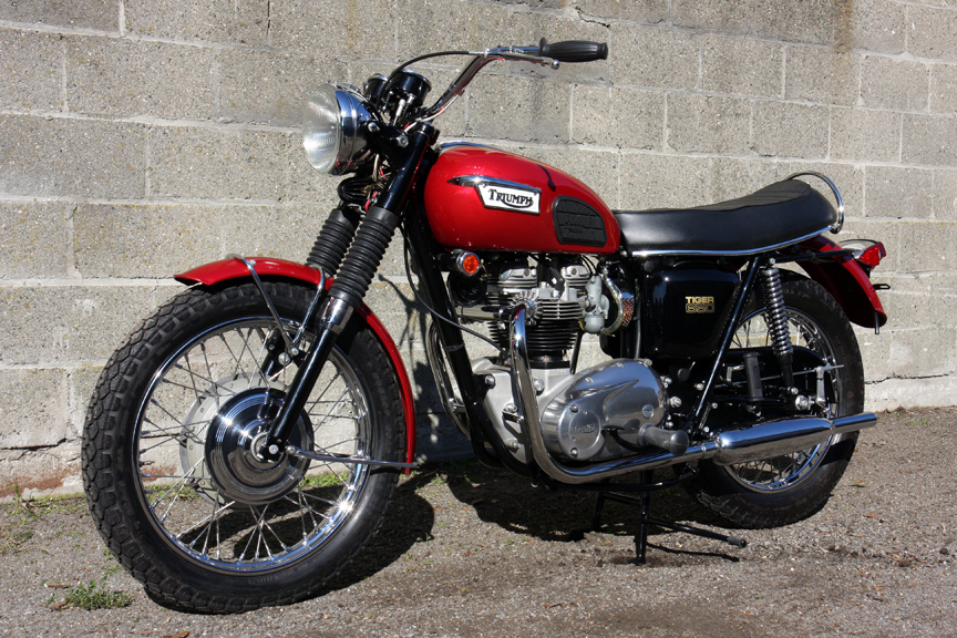 1969 Triumph Tr6r Don Hutchinson Cycle