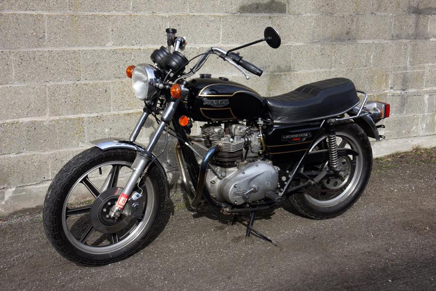 1979 Triumph Bonneville Special 750 Don Hutchinson Cycle