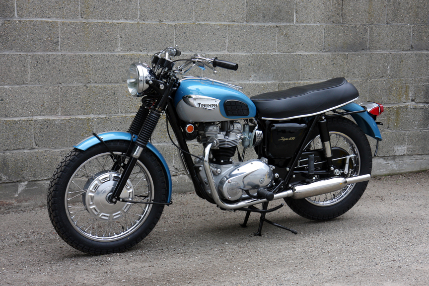 1968 Triumph Tiger 650 Tr6r Don Hutchinson Cycle